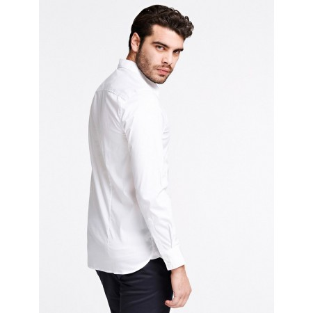CHEMISE GUESS LS SUNSET-SHIRT-M0BH20-W7ZK0-TWHT