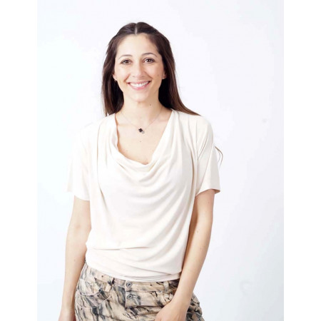 T-shirt Savina ECRU