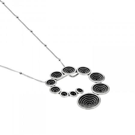 Collier en spirale  argent 925